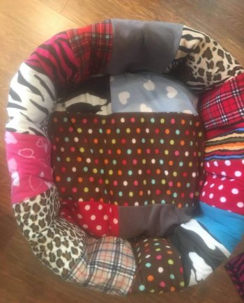 Fleece Patchwork Spare Nestie Covers