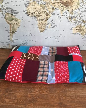 Fleece Patchwork Flat Bed