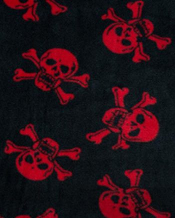 Fleece Skulls & Crossbones